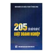 205 Câu Hỏi Và Đáp Về Luật Doanh Nghiệp -