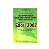 Hướng Dẫn Sử Dụng Các Công Thức Và Hàm Thông Dụng Căn Bản Nhất Trong Excel 2007 -